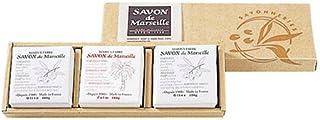 サボンドマルセイユ無香料ギフトセット3個入り