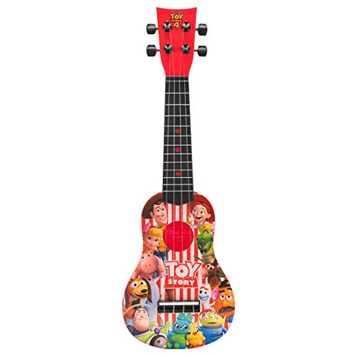 First Act Discovery Toy Story 4 Ukulele (Small Kids Guitar with Four Strings)