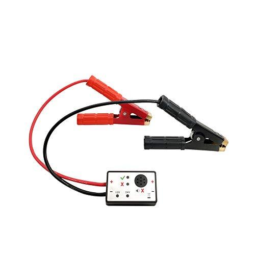 Rantoloys Dispositivo de protección contra sobretensiones supresor de sobretensiones Pro-Tec Protector Anti Zap 12 V / 24 V para Evitar daños en el Sistema eléctrico Mientras suelda o Salta