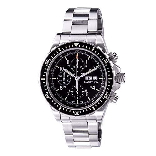 Marathon WW194014Csar Swiss Made questione militare cronografo pilota...