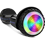 Gyrocopters PRO 6.0 All Terrain Hoverboard - UL 2272 Certified with Bluetooth, LED
