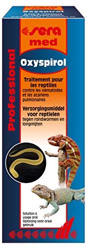 sera med Professional Oxyspirol 30ml - Arzneimittel für Reptilien gegen Rundwürmer und Lungenmilben