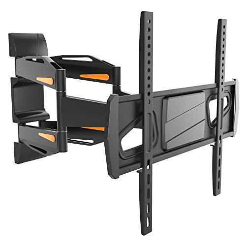 RICOO S1844 Supporto TV parete Girevole Inclinabile Televisore 32-65  (81-165cm) Staffa universale Televisione LED LCD Curvo VESA 200x200-400x400