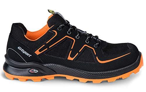 Grisport Cross Safety Beat S3 Sicherheitsschuhe - black/orange 43 black/orange