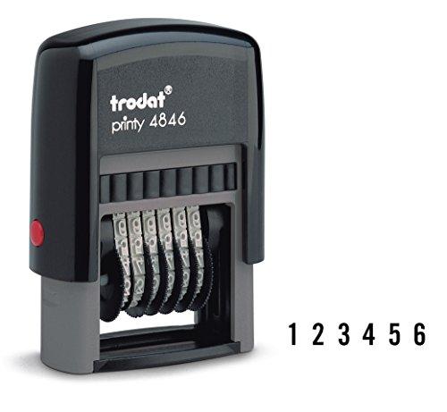 Trodat Printy-Timbro numeratore autoinchiostrante
