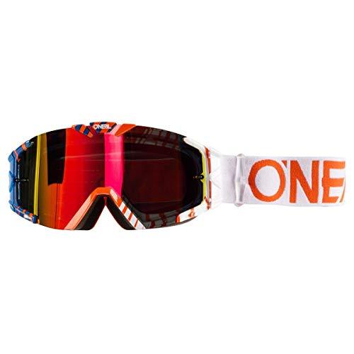 O'NEAL B30 Duplex Kinder Goggle MX DH Brille orange/blau/Radium Oneal