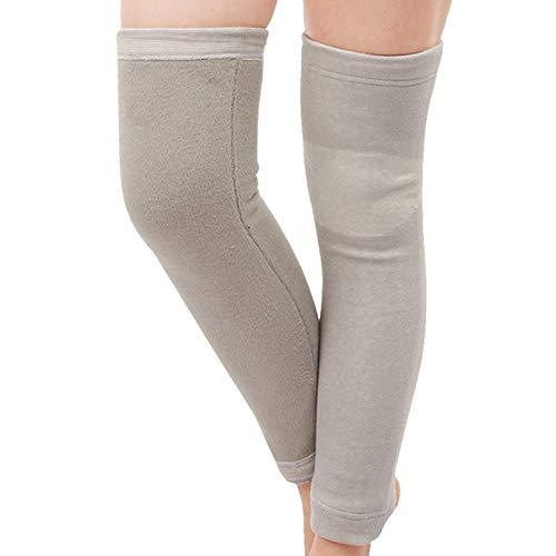 TLMYDD Lange Warm Sport Ademende Kniebeschermers voor mannen en vrouwen middelbare leeftijd zorg Kniegewricht Oudere Koude Leggings Herfst En Winter Plus Fluwelen Kneepad
