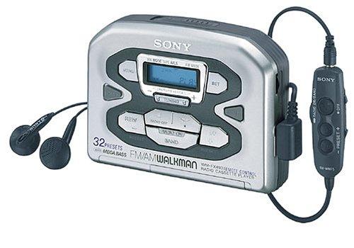 Sony WM-FX493 tragbarer Kassettenspieler grau
