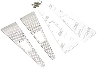 Yeah Racing Stainless Steel Front Hood Side Diamond Plate for Traxxas TRX-4-TRX4-020