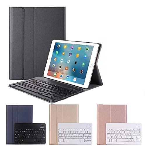 GHC Pad Fundas & Covers para iPad Pro 11, Tapa de Teclado español en inglés con Caja Inteligente magnética del Teclado para iPad Pro 11 2018 A1980 A2013 (Color : Spanish Blue)