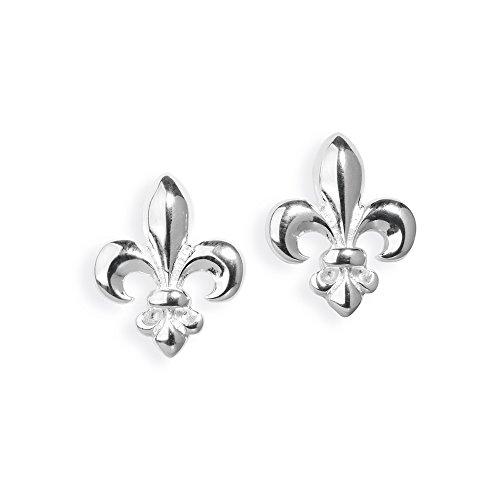 Heartbreaker Luxus Lilien Ohrstecker aus der Kollektion F´lys in Echtsilber   Ohrringe Silber 925 Sterling nickelfrei   Elegante Design Ohrringe für Damen