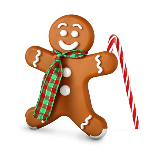 Bright Air Holiday Gingerbread Man Air Freshener, Ginger Cookie Scent