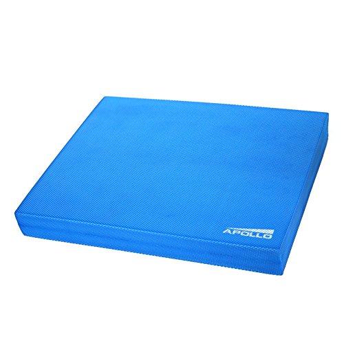 Apollo Cuscino propriocettivo per Equilibrio Balance Pad 24x38x6cm, per Fitness, Yoga e Pilates en Blu