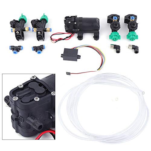 TFCFL Drone System 12V Brush Water Pump for DIY Simple Sp-ra-yer System Water Pump 24V -12V Step-Down Module with Pipes Set 3.5 L/Min