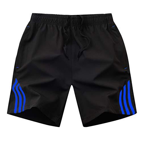 LSSM Pantalones De Cinco Puntos para Hombre Pantalones...
