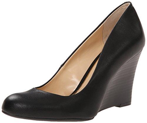 Jessica Simpson Women's Cash Pump, Black, 5.5 Medium US