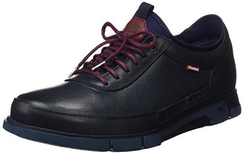 Fluchos Tiger, Zapatos de Cordones Oxford Hombre, Azul (Marino), 42 EU