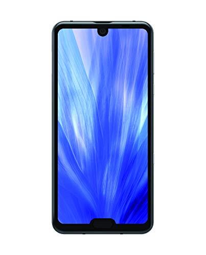 Sharp Aquos R3 Duals SIM Smartphone, WQHD IGZO Display, 15,75 cm (6.2 Zoll), 128 GB interner Speicher, 6GB RAM, Android 9.0, 20.1 MP Hauptkamera, Gesichtsentsperrung, Fingerabdrucksensor – Schwarz