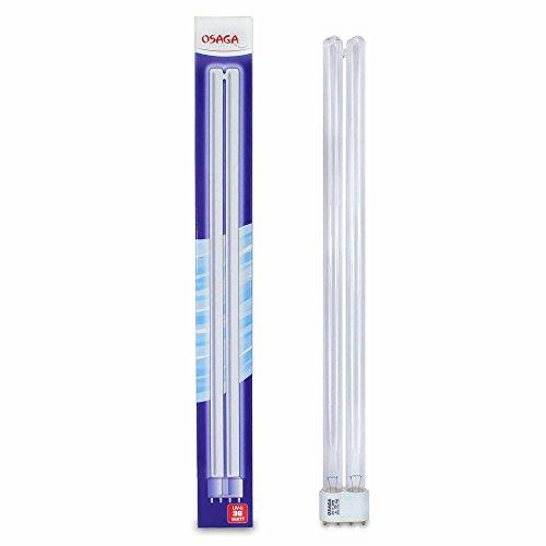 1 Stück 36 Watt PL UVC Lampe für Koi Teich, Ersatzlampe Sockel 2G11