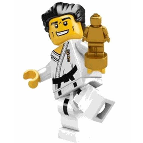 LEGO Karate Master - 8684 Series 2 Mini Figure