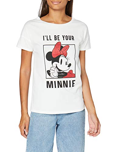 Springfield Bambi Blanc Mini-c/99 Camiseta, Multicolor (Multicoloured 99), 36 (Tamaño del Fabricante: S) para Mujer