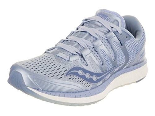 Saucony Women's Liberty ISO Shoes, Fog/Blue, 7.5