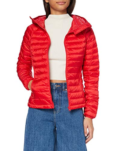 United Colors of Benetton 2AOB53615 Giacca, Red 015, 42 Donna
