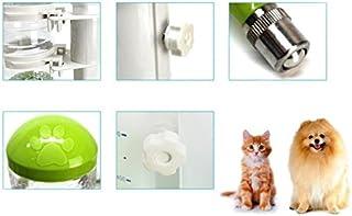 Pet Water Dispenser Pet Water Feeder Ball Design Hanging Lifting Automatic Drinking Fountain Set(Green) Cat Travel Drink Bottle