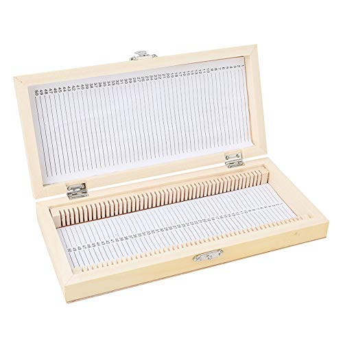 Microscope Slide Box Prepared Biology Slide Storage Set Biological Case for Education for Basic Science