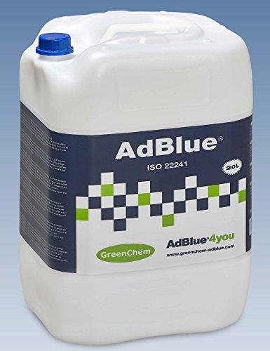 GreenChem AdBlue - Additivo per auto, 20 l, con beccuccio