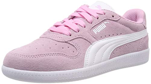 Puma Icra Trainer SD Jr, Unisex-Kinder Sneakers, Pink (Pale Pink-Puma White), 38 EU (5 UK)