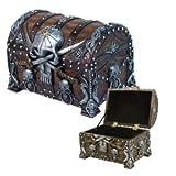 Pacific Trading Pirates Treasure Chest Trinket/Mini Jewelry Box