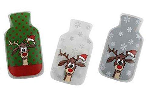 3er Set Taschenwärmer Didi (Wärmflaschenform) Wichtelgeschenk - Handwärmer