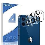 Janmitta Fotocamera Vetro Temperato per iPhone 12 Mini Pellicola Protettiva [3 Pack],Alta Definizione [AntiGraffio][Facile da Installare] Flim per iPhone 12 Mini 5.4''