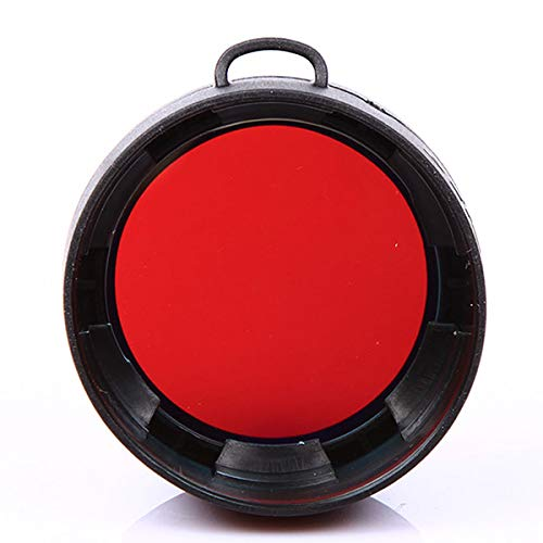 Olight FM10 Red Filter for S10 S10R S20 S20R S15 S15R ST25 M10 M18 LED Flashlights (Red) by Olight