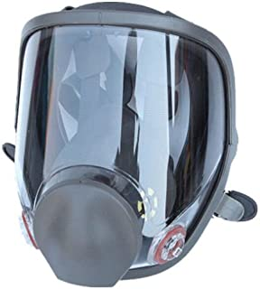 WALLER PAA Full Face Gas Mask Painting Spraying Respirator Similar for 3M 6800 Facepiece