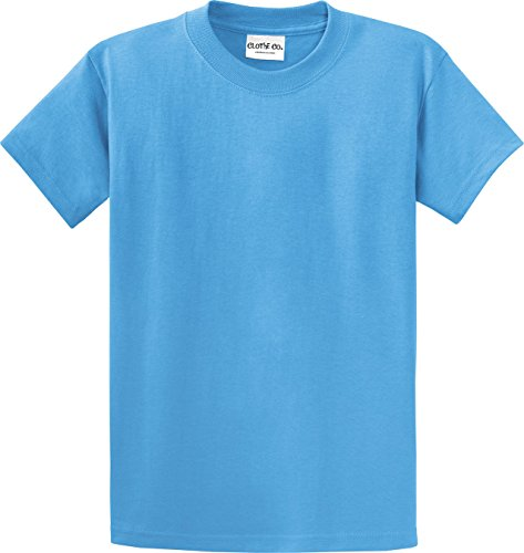Men's Big & Tall Heavyweight 100% Cotton Short Sleeve T-Shirt 3