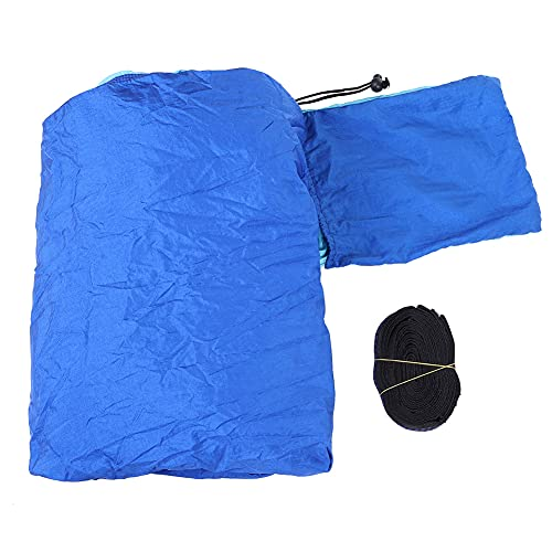 Tenpac la Hamaca Que Acampa, la Hamaca Ancha Robusta Se Alarga para el Viaje Que Acampa para el Patio del Jardín(Azul Cielo y Azul Zafiro)
