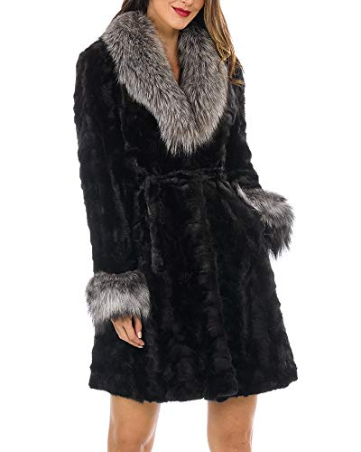 Real Sculptured Fur Coat