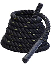 Zware Jump Rope Skipping Touw Workout Battle Ropes voor Mannen Vrouwen Totaal Body Workouts Power Training Strength Building Muscle