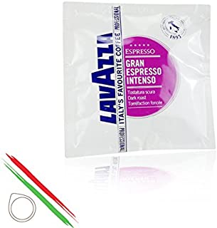 Lavazza - Cápsulas de café de papel, 44mm, Lavazza Gran Espresso Intenso