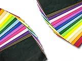 100 hojas de papel de seda de colores para envolver regalos