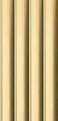 8m Metallic Foil effect Gift Wrapping Paper - 4x2m Roll of Plain Gold
