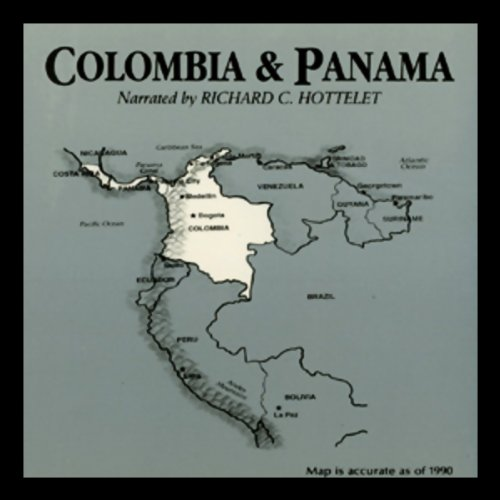 Colombia and Panama  audiobook cover art