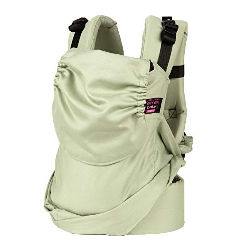 Easy Emeibaby Carrier Full Patinagreen