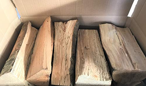 Legna Da Ardere Alta Qualità per Camini e Stufe, Pezzi di Legno da 25 centimetri   6 Cartoni Da 15 kg - 90 kg