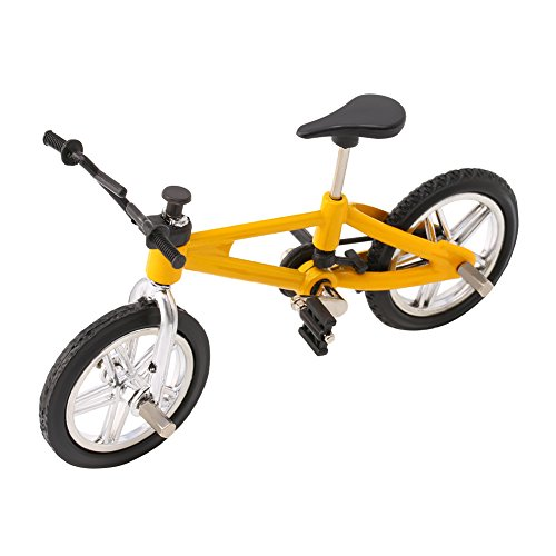 ZHINTE Remote Control Cars Aleación de Dedos Modelo de Bicicleta Mini MTB BMX Bicicleta Fixie Niños Juguete Juego Creativo Regalo