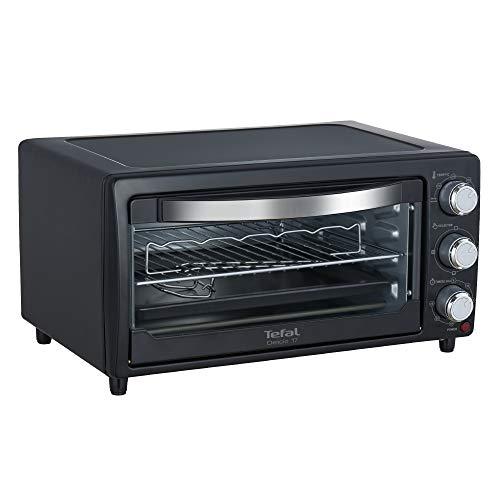 Tefal Delicio 17-Litre Oven Toaster Griller (Black)
