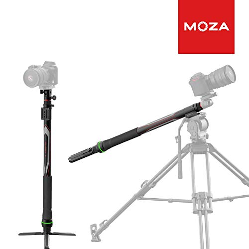 MOZA Slypod E Camera Slider Monopod Motorized Motion Sliders Accurate Position & Speed Control 5-Axis Camera Robotic 40lbs Vertical Payload for DSLR/SLR Camera Gimbal stabilizer with Tripod