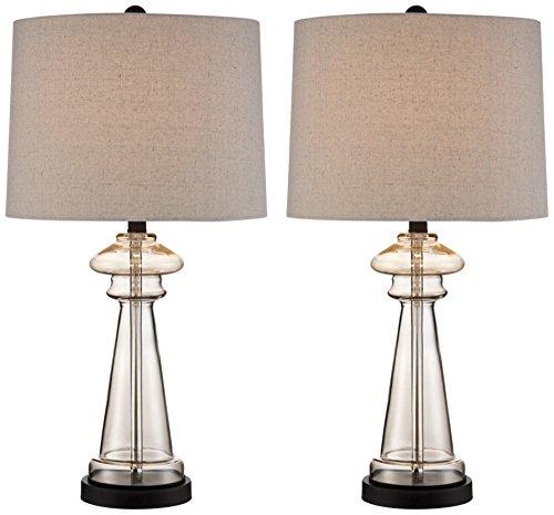Dalia Champagne Glass Table Lamp Set of 2
